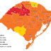 Bossoroca e região das Missões na Bandeira vermelha