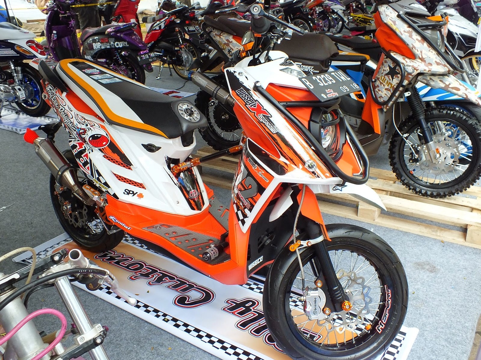 99 Foto Modifikasi Motor Yamaha X Ride TeaModifikasi