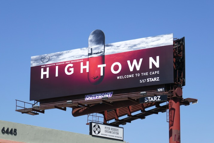 Hightown extension billboard