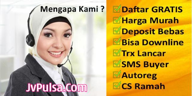 JvPulsa.com Adalah Web Resmi Server Java Pulsa Murah PT Aslamindo Eltama Raya