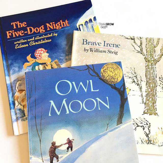 winter picture books for upper elementary