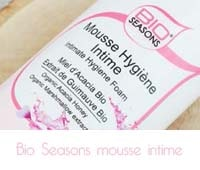 Mousse hygiène intime de Bio Seasons