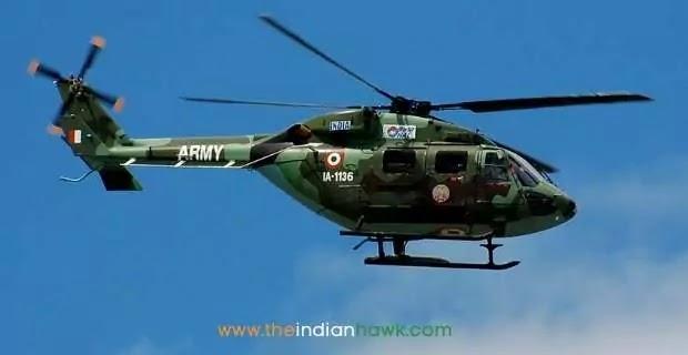 Indian Army Chopper Crashes At Ranjit Sagar Dam in J-K's Kathua