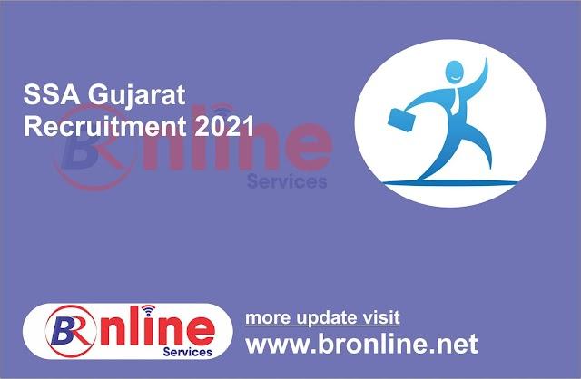 Sarva Shiksha Abhiyan (SSA), Gujarat Recruitment 2021