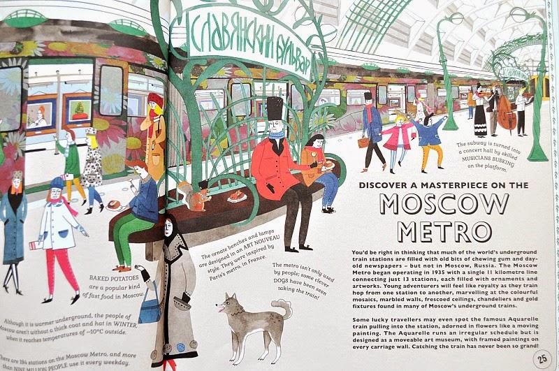 Atlas of Adventure, Moscow Metro, russia