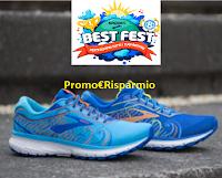 Logo Brooks Best Fest: vinci gratis 60 paia di scarpe Ghost 12