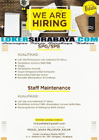 We Are Hiring at Surabaya Patata Oktober 2019 Terbaru