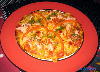 Carole's Chatter: Salmon Pizza