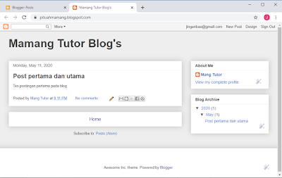 Blogspot Gratis