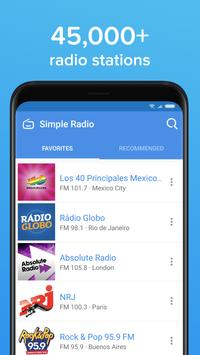 تحميل تطبيق Simple Radio – Free Live FM AM