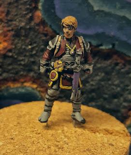 WIP :: Reaper Miniatures' Bones :: Eando Kline, Adventurer
