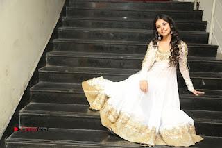 Telugu Actress Mahima Makwana Stills in White Desginer Dress at Venkatapuram Movie Logo Launch  0255.JPG