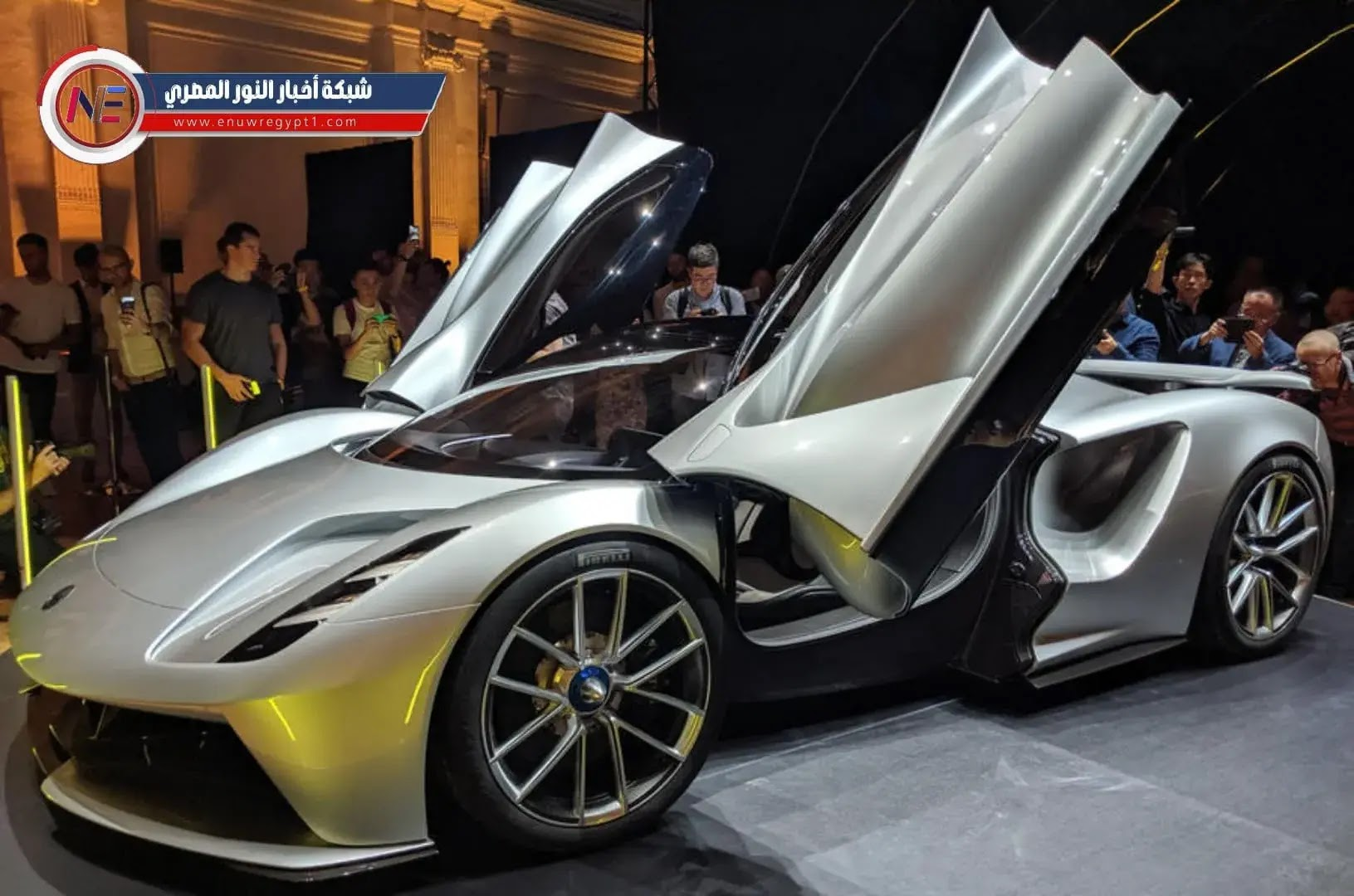 لوتس إيفيجا: سيارة خارقة كهربائية بقوة 2000 حصان أم قطعة فنية؟