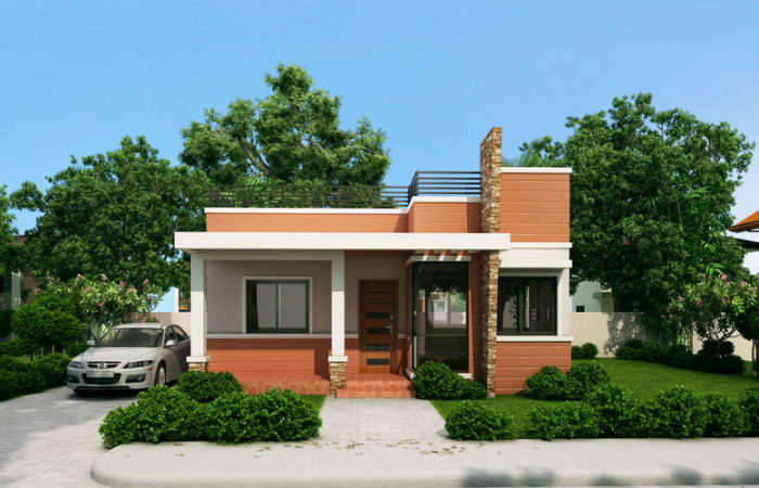 Beautiful house photos with free floor plans estimates for Small house plans in philippines