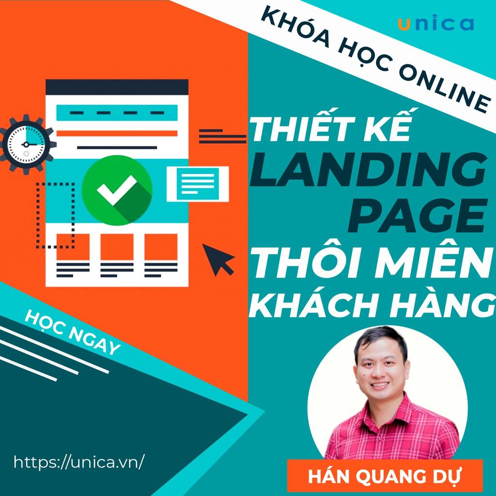 Chia Sẻ Miễn Phí Khóa Học Online Tự Tay Thiết Kế Landing Page Thôi Miên Khách Hàng 2021