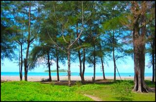 Objek Wisata Pantai Kata Padang Pariaman