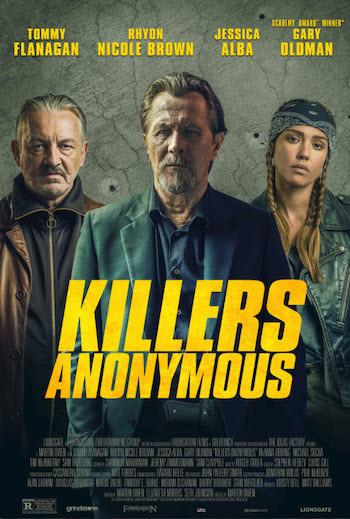Killers Anonymous 2019 English 720p WEB-DL 800Mb ESub