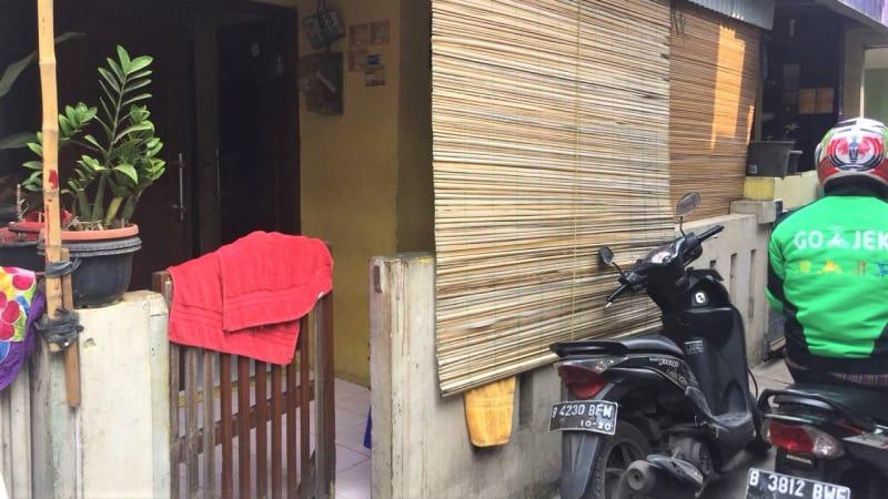 Suasana Rumah Pemilik Lamborghini di Cengkareng, Jakarta Barat.