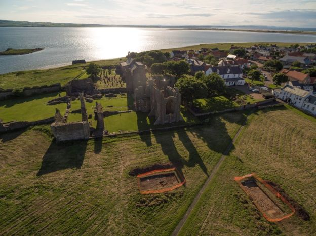 Evidence of early Christian monastery found in England