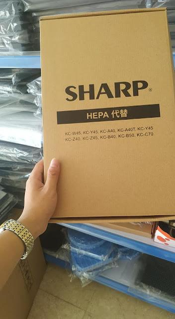 mang loc hepa sharp