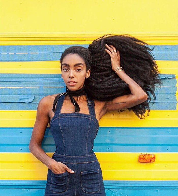 """They're also the girls behind the natural hair blog """"Urban Bush Babes"""" - These Twin Sisters Were Ashamed Of Their Incredible Hair, But Now They Became Famous For It"""
