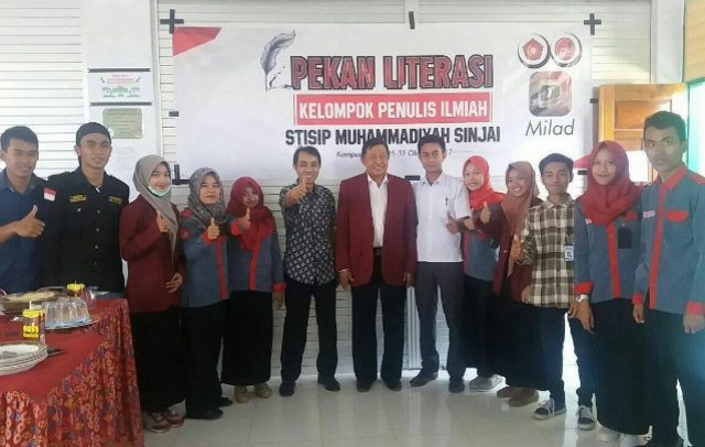 STISIP Muhammadiyah Sinjai Gelar Pekan Literasi