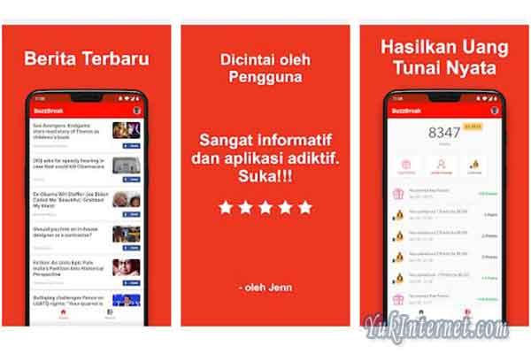 5 Aplikasi Penghasil Uang Langsung Ke Rekening Yukinternet