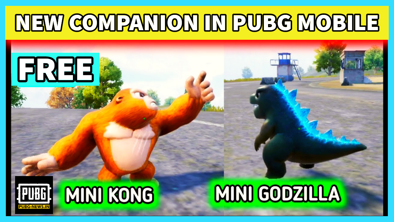 How to get Free Companion in PUBG Mobile