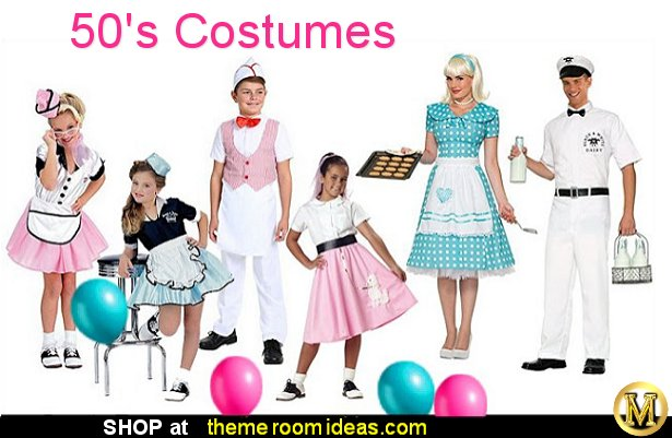 50s costumes diner waitress costume 1950's costumes  halloween costumes party costumes