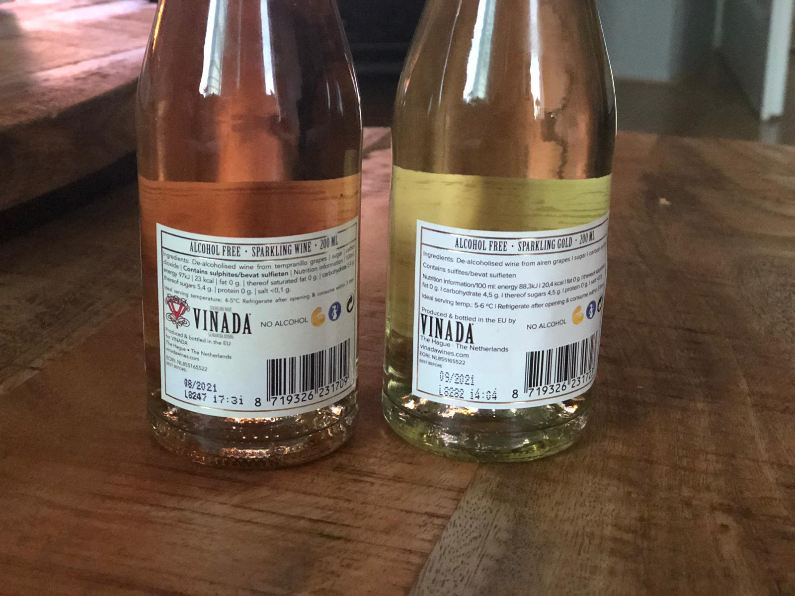 REVIEW | Vinada Alcohol Free Sparkling Wine & Rosé