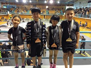 Auckland Kids BJJ No Gi Competition