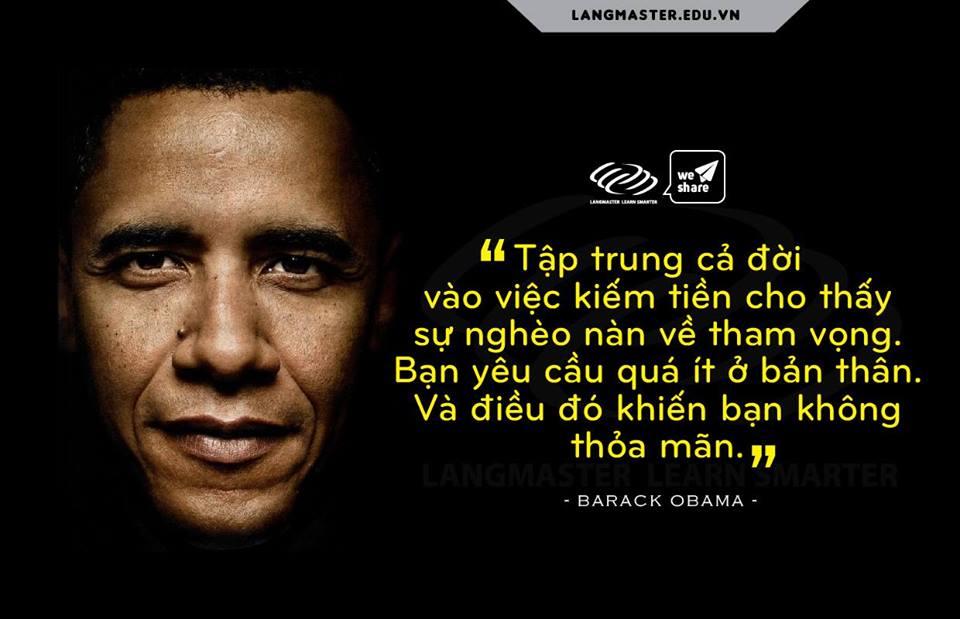 cau noi hay cua Obama