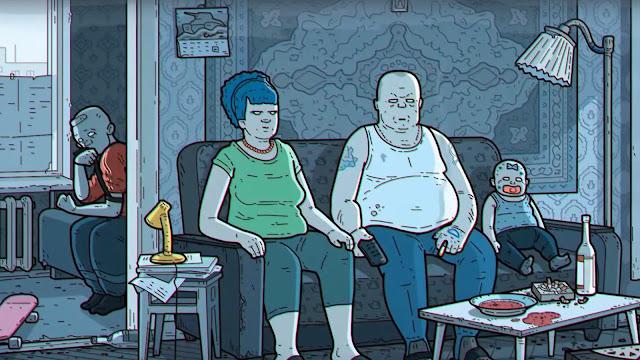 Artista-crea-versión-Rusa-intro-de-los-Simpson