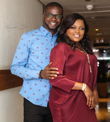 Funke Akindele and husband JJC Skillz photos