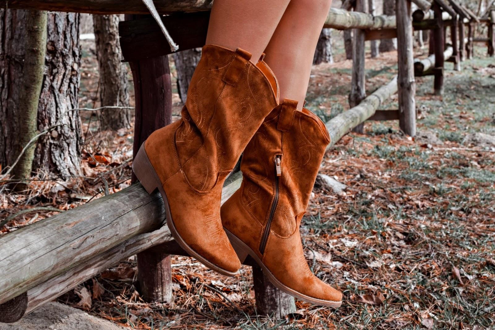 wiosenny look w stylu country
