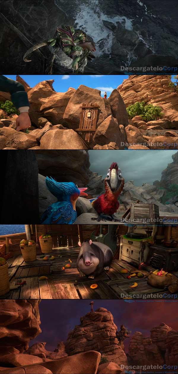 Las Locuras de Robinson Crusoe HD 720p Español Latino