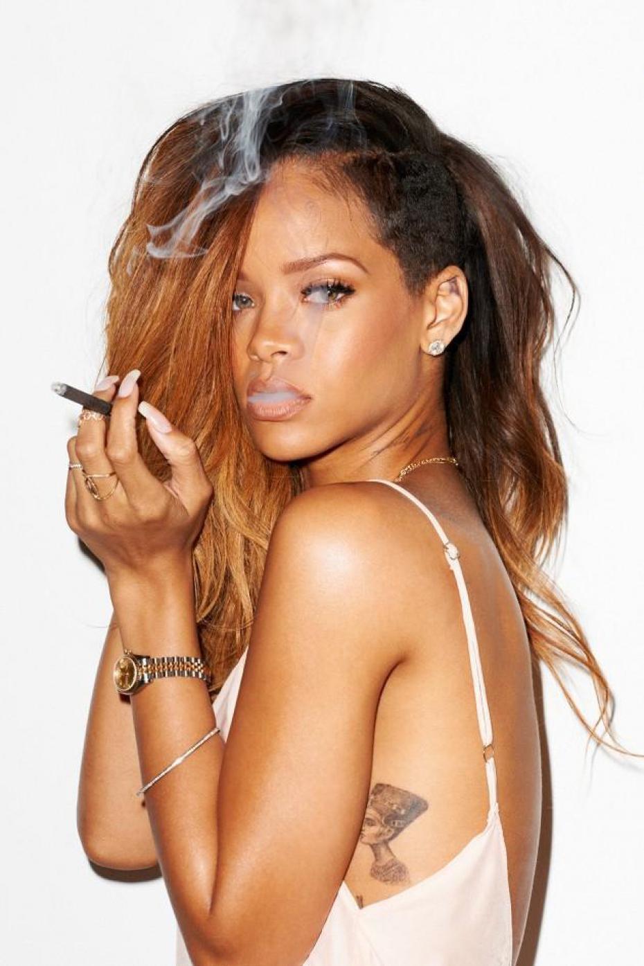Cuales Son Los Tatuajes De Rihanna los tattoos de riahanna y su significado | belagoria | la