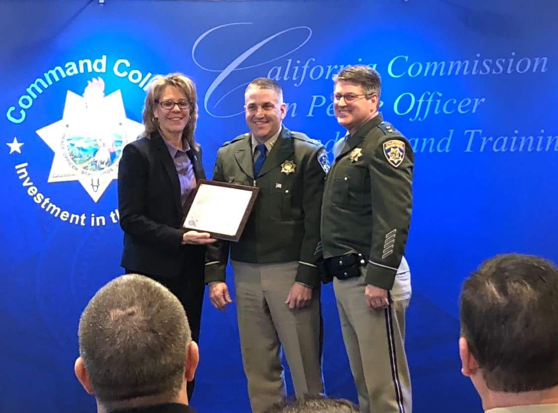Words Worth: Humboldt CHP Captain Brett Fabbri graduated