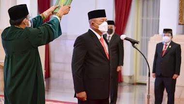 Letjen Ganip Dilantik Jadi Kepala BNPB & Satgas Covid Baru