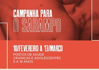 Campanha contra o Sarampo em Cajati