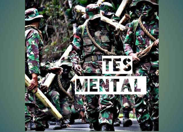 Contoh soal pertanyaan tes mental ideologi (wawancara) TNI-Polri
