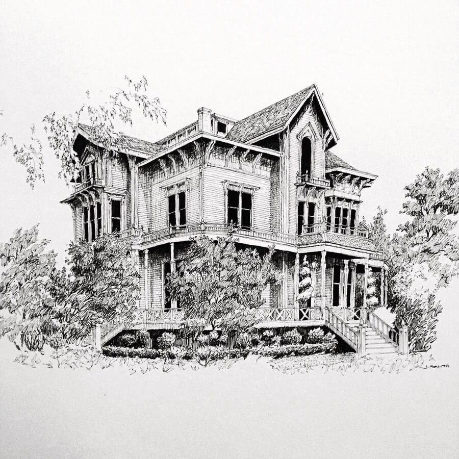 03-Gable-Mansion-in-Woodland-JS-Smith-www-designstack-co