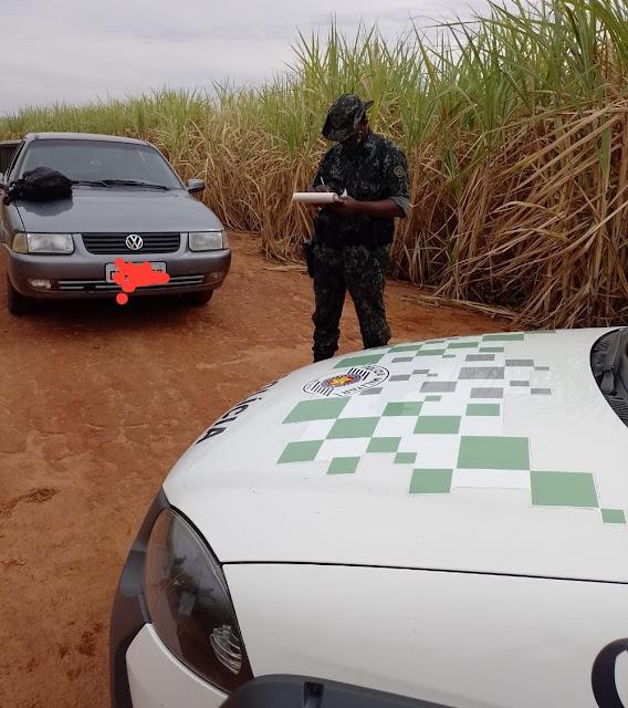 Homens são multados por caça predatória de animais silvestres na zona rural de Lucélia