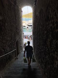 A stair down to Calata Doria - Porto Venere