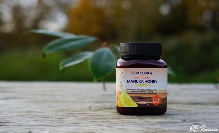Melora Multifloral Manuka Honey with Lemon