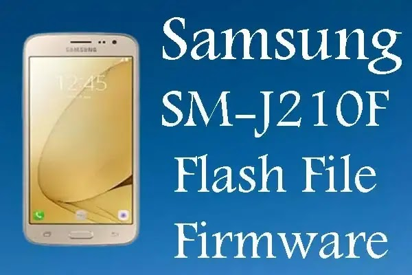Samsung SM-J210F Firmware Flash File Tested