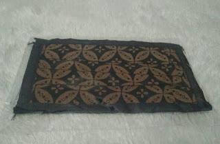 masker kain 2 lapis batik