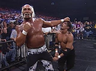 WCW - The Great American Bash 2000 - Hollywood Hulk Hogan attacks Billy Kidman