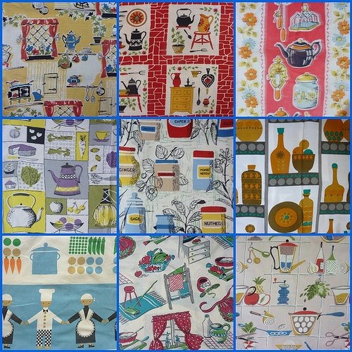 Vintage Kitchen Fabrics Dekoplus Et Al