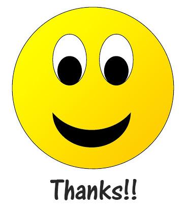 Smiley Face Thank You Emoji 4